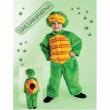 Costume tartarughina baby tg. 6/12 mesi