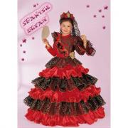 Costume spanish dream 5/6 anni