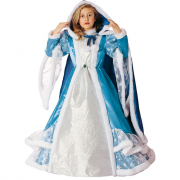 Costume principessa delle nevi 3/4 anni