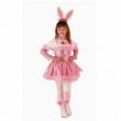 Costume Pink bunny 3/4 anni