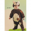 Costume orsacchiotto baby 6/12 mesi