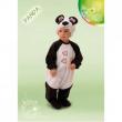 Costume Panda Baby tg. 6/12 mesi