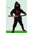 Costume Dark Ninja tg. 7/8 anni