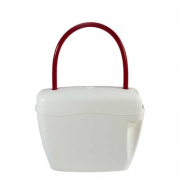 Borsa look-at-one bianco