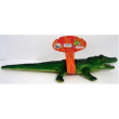 Coccodrillo in gomma cm. 60