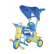 Triciclo con Cappottina Blu