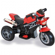 Moto naked rosso 6V