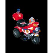 Moto elettrica Police rossa