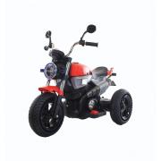 Moto Custom rosso elettrica