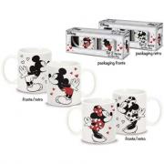 Confezione 2 tazze Minnie e Mickey