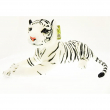 Tigre bianca in peluche 60cm