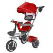 Triciclo rosso sedile reversibile