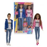 Me Contro Te Fashion Doll Coppia 30 Cm