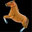 Palloncino cavallo 109 cm gas elio