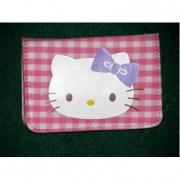 Porta carte Pink Hello Kitty