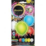 Palloncini Ilooms led 5 pezzi
