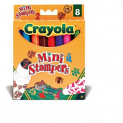 8 Stampini Animali Crayola