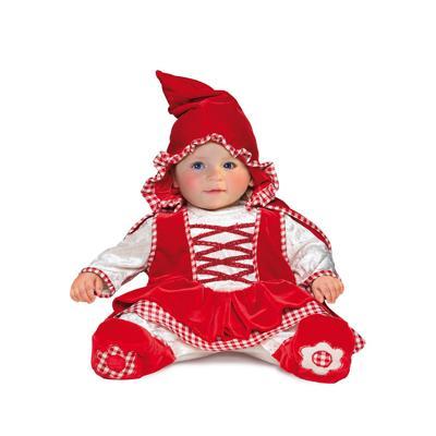 Costume Cappuccetto Rosso 6/9 mesi