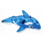Balena gonfiabile cavalcabile