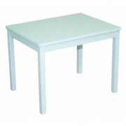 Tavolo bianco in legno per bambini Roba Baumann