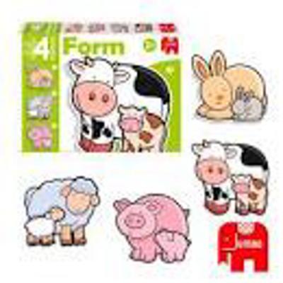 Puzzle bimbo animali da stalla