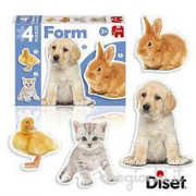 Puzzle sagomato animaletti