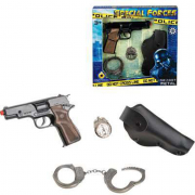 Set polizia pistola