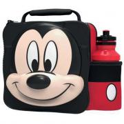 Portamerenda 3D con borraccia Topolino Mickey