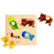Puzzle in legno Animali Domestici Goula