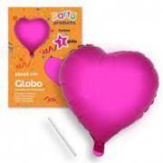 Palloncino cuore rosa 46cm