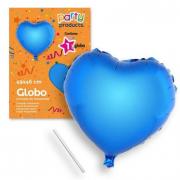 Palloncino cuore blu 46cm