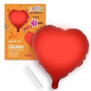 Palloncino cuore rosso 46cm