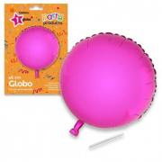 Palloncino cerchio rosa 46cm