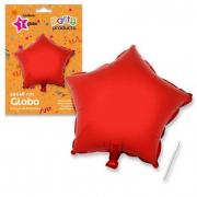 Palloncino stella rossa 46cm