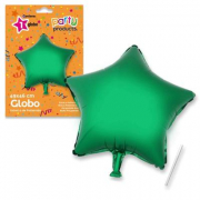 Stella verde palloncino