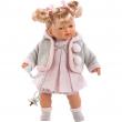 Bambola Roberta 33cm cm con ciuccio e voce