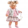 Bambola Isabela 33 cm con ciuccio