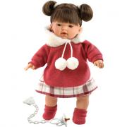 Bambola Tatiana 33 cm con ciuccio