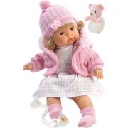 Bambola Lidia 38 cm con ciuccio e bracciale Trudi