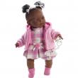 Bambola nicole 42cm girl nera
