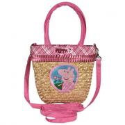 Peppa pig borsetta con manici e tracolla