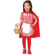 Costume cappuccetto rosso 7/9 anni