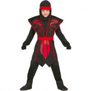 Costume shadow ninja 5/6 anni