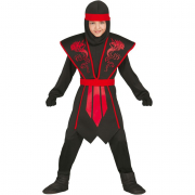 Costume shadow ninja 10/12 anni