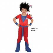 Costume completo Goku  dragon ball 5/6 anni