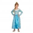 Costume principessa del ghiaccio 5/6 anni
