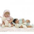 Bambola Tita con coniglietto cm. 45