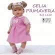 Bambola Celia primavera 45cm