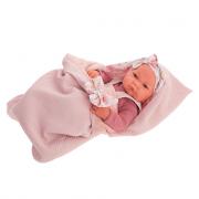 Bambola neonata Nica con sacco a pelo