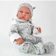 Bambola Nacido tuta azzurro 40cm